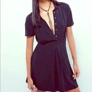 Free People Chaser Dress. Size 4. Black